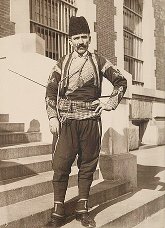 Turkish Americans - A Turkish immigrant in New York (1912)