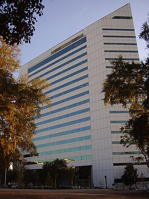 Government of Florida - The Turlington Building in Tallahassee, headquarters of the Department of Education