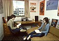 Two students in student accommodation at the University of Stirling.jpg