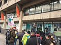 UCU teach-out at KCL entrance during March 2020 industrial action.jpg