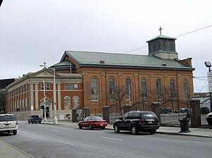 Saints Peter and Paul Church (Detroit) - Image: UDM downtown campus