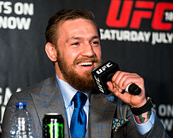 UFC 189 World Tour Aldo vs. McGregor London 2015 (18776759002) (cropped).jpg