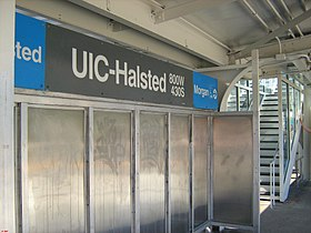 La station UIC-Halsted