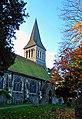 UK London - St Nicholas Church in autumn, Sutton.jpg