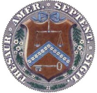 United States Assay Commission - Image: US Dept Of The Treasury Pre 1968Seal