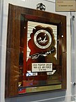 USAF 14th Fighter Group plate to Soong May-ling in ROC-CKSMH 20131127.jpg