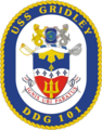 USS Gridley DDG-101 Crest.png