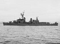 USS Walke (DD-723) off the Mare Island Naval Shipyard on 11 October 1961 (NH 99816).jpg