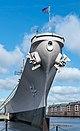 USS Wisconsin, bow view, Sept 2019.jpg