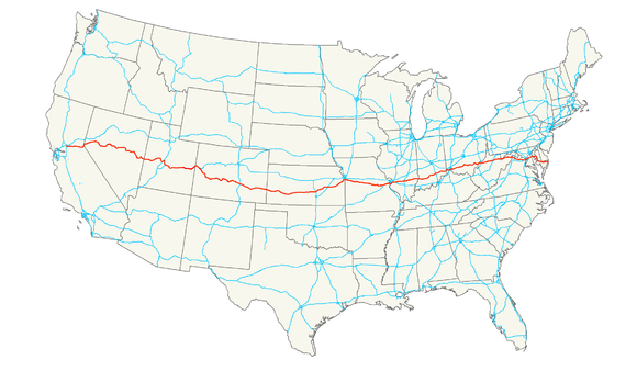 US Route Wikiwand - Map of us 50