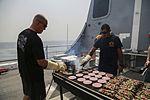 US Marines, Sailors enjoy steel beach picnic 150829-M-TJ275-001.jpg