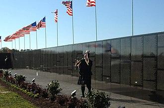 Vietnam Veterans Memorial - The Moving Wall at Mount Trashmore Park in Virginia