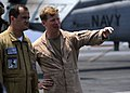 US Navy 080722-N-7241L-006 Capt. Dan Dixon speaks with Capt. Patrick Zimmermann.jpg
