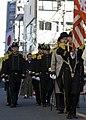 US Navy 091103-N-5253W-066 Sailors from Fleet Activities Yokosuka, dressed as Commodore Matthew C. Perry and members of his crew, march through Tokyo during the Jidai Matsuri parade.jpg