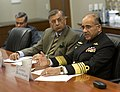 US Navy 100319-N-7090S-001 Pakistan Chief of Navy Staff Adm. Noman Bashir answers questions from U.S. Navy officers and other dignitaries on topics ranging from terrorism to piracy.jpg