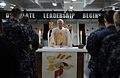 US Navy 100502-N-7605J-047 Lt. William Dorwart leads a congregation during Roman Catholic religious mass.jpg
