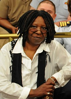 Whoopi Goldberg American actor, comedian, author, and television personality