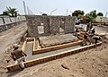 US Navy 100818-N-7241L-026 Seabees repare concrete forms at Ecole 5, a five-room school under construction near Camp Lemonnier.jpg