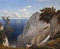 Udsigt over havet fra Taleren på Møns Klint, 1851.jpg