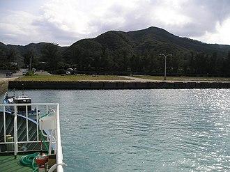 Setouchi, Kagoshima - Image: Uke Island Uke Amuro port Kagoshima,JAPAN