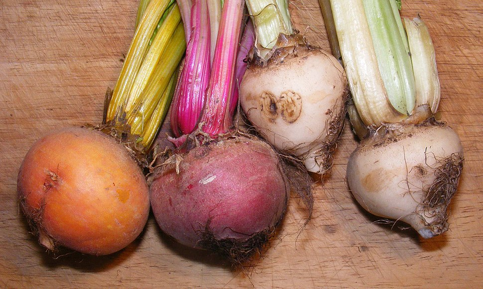 Uncommon beetroot colours