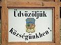 Ungarn-02-Willkommen in unserm Dorf Dunakiliti-2003-gje.jpg