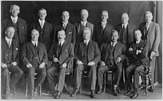 United Government of New Zealand - United cabinet, 1928.
