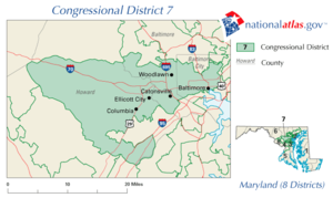 United States House of Representatives, Maryland District 7 map.png