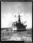 United States Navy warship underway in Sydney Harbour (7552886560).jpg