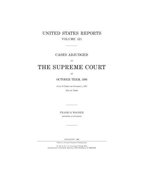 File:United States Reports, Volume 521.djvu