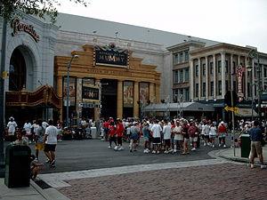 Revenge of the Mummy - Revenge of the Mummy's entrance at Universal Studios Florida.