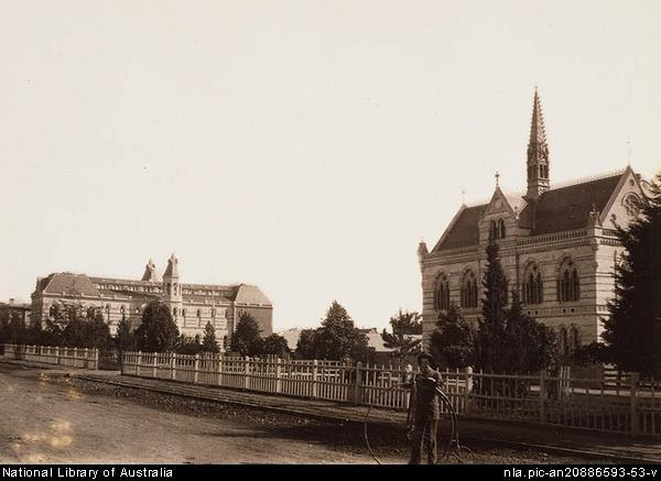 University of Adelaide around 1882
