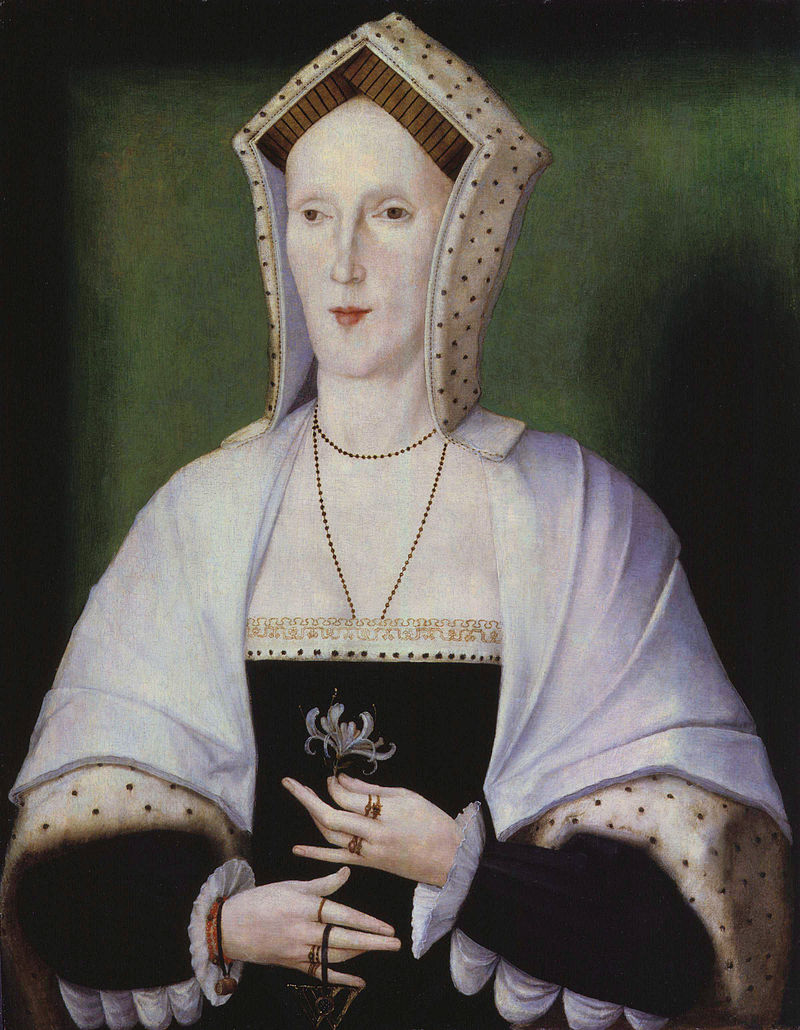Unknown woman, formerly known as Margaret Pole, Countess of Salisbury from NPG retouched.jpg