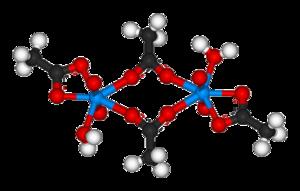 Uranyl acetate - Image: Uranyl acetate 3D balls