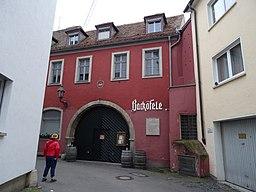 Ursulinergasse in Würzburg