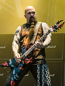 Ursynalia 2012, Slayer, Kerry King 01.jpg
