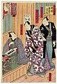 Utagawa Kunisada II - Author's Room - Musician Kiyomoto Enjudayû, Actor Ichikawa Kodanji IV, and Author Kawatake Shinshichi.jpg