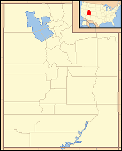 Salt Lake City is located in Utah