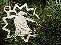Vánoce, ozdoba na stromku, zvonek.jpg