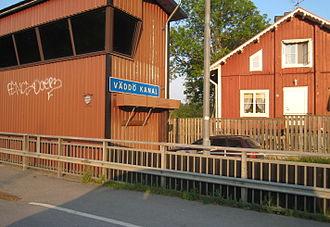 Väddö - The canal of Väddö.