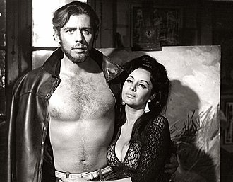 Carne (1968 film) - Víctor Bó and Isabel Sarli as Antonio and Delicia.