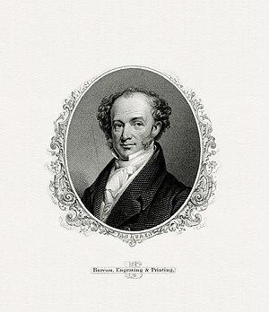 Inauguration of Martin Van Buren - Image: VAN BUREN, Martin President (BEP engraved portrait)