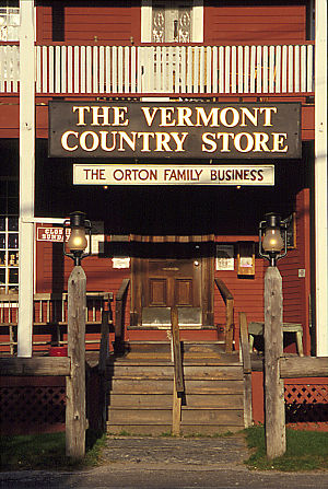 English: The Vermont Country Store in Weston, ...