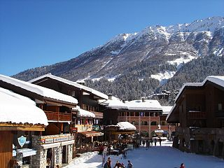Les Avanchers-Valmorel Commune in Auvergne-Rhône-Alpes, France