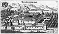 Valvasor TANZENBERG 1680 Kupferstich.jpg