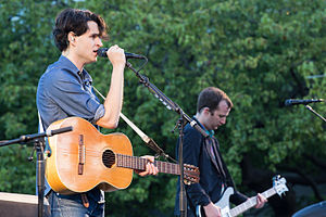 Ezra Koenig - Koenig performing with Vampire Weekend