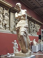 Venus Milo - replica in Pushkin museum 01 by shakko.jpg