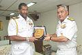 Vice Admiral Satish Soni presents ENC crest to Vice Admiral Jayantha Perera.jpeg