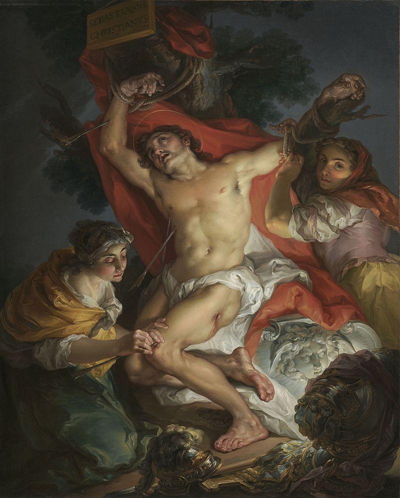 Vicente Lуpez y Portaсa - Saint Sebastian Tended by Saint Irene - 2000.47 - J. Paul Getty Museum.jpg