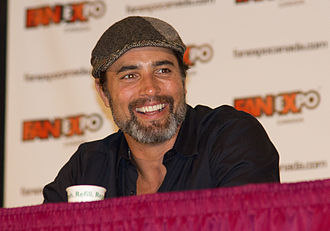 Victor Webster - Webster at a panel for Continuum at the 2012 Fan Expo Canada